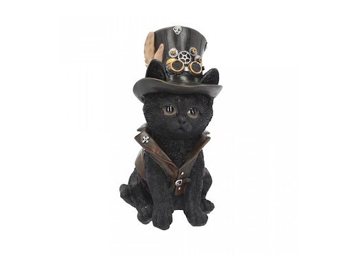 Cogsmiths Cat by Nemesis Now