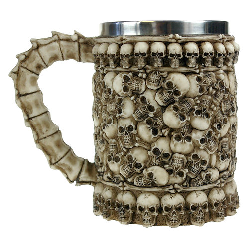 Skull Pit Tankard by Nemesis Now