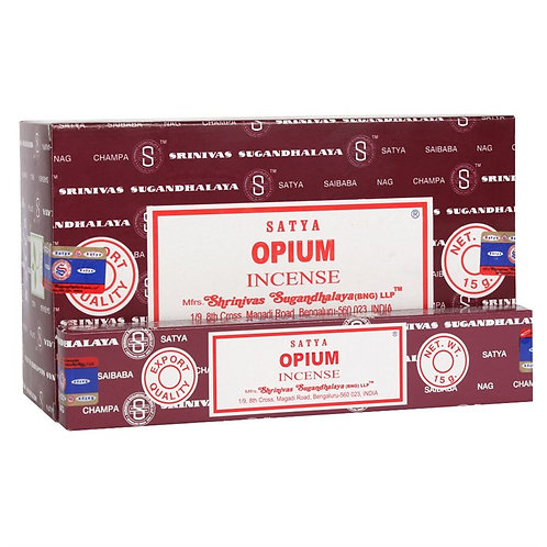 Opium Incense Sticks by Satya