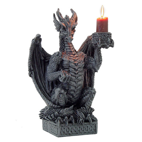 Light Keeper Candle Holder by Nemesis Now