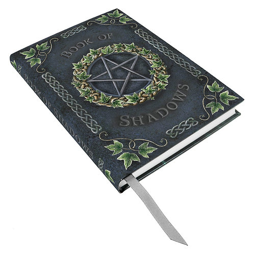Ivy Embossed Book of Shadows Journal by Nemesis Now