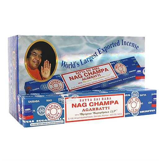 NAG CHAMPA INCENSE STICKS BY SATYA