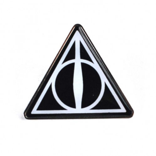 Deathly Hallows Pin Badge - Harry Potter
