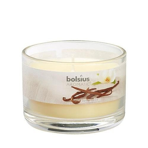 Vanilla Aromatic Scented Candle Jar