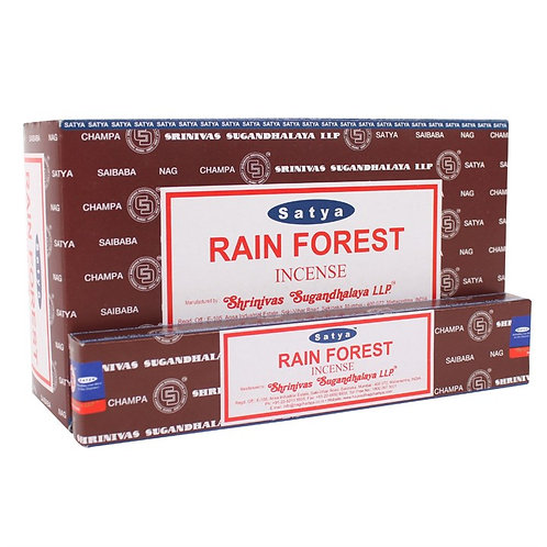 Rain Forest Incense Sticks by Satya