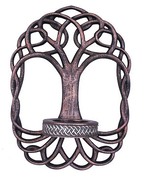 Tree of Life Candle Holder by Nemesis No