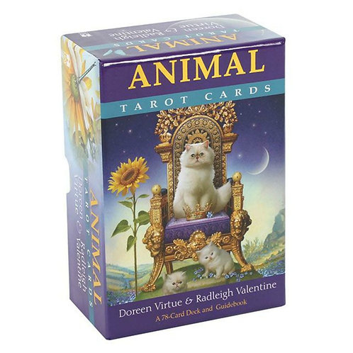 Animal Tarot Card Deck with Guidebook by Doreen Virtue and Radleigh Valentine