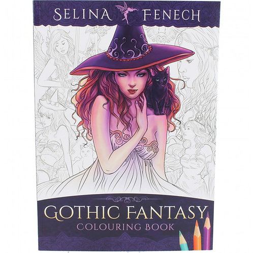 Gothic Fantasy Colouring Book by Selina Fenech