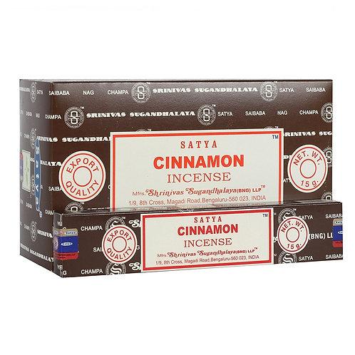 Cinnamon Incense Sticks by Satya