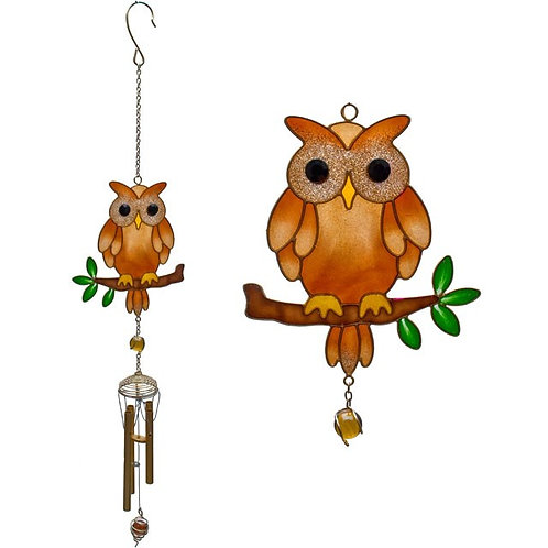 Brown Owl Windchime