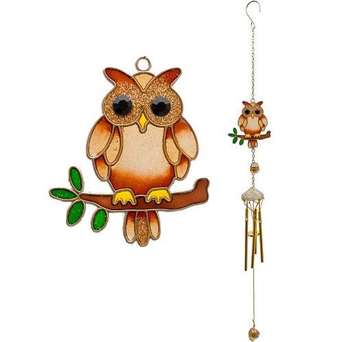Small Owl Windchime