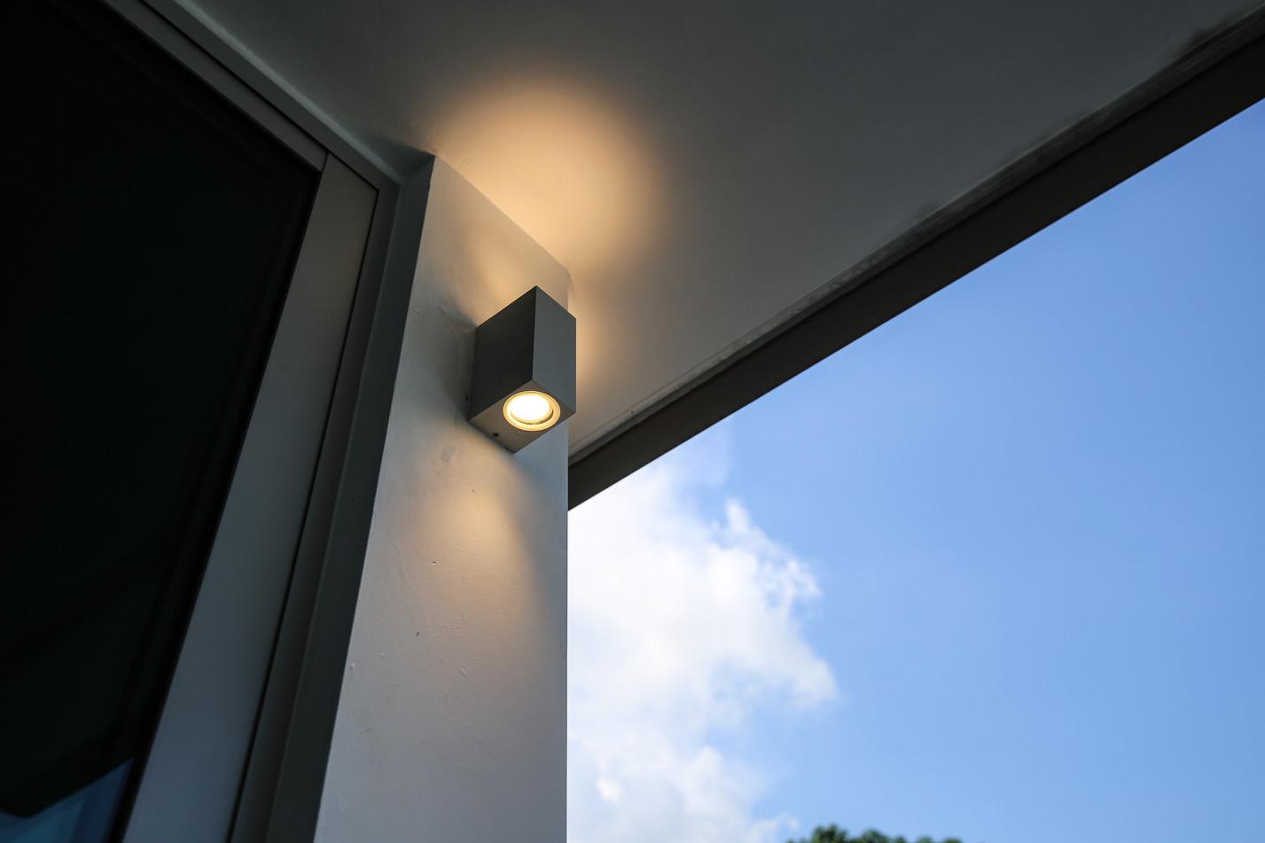 LED GU10 Wall light