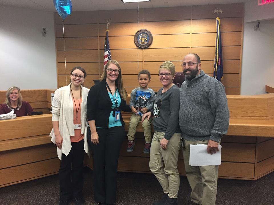 A Happy Adoption Family!