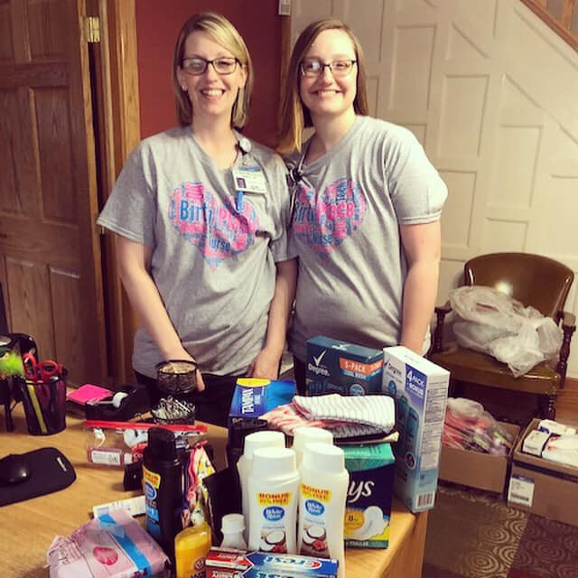 Care Bag Pantry Donations