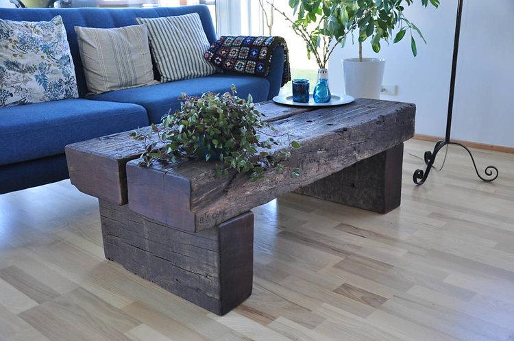Ironwood sofabord