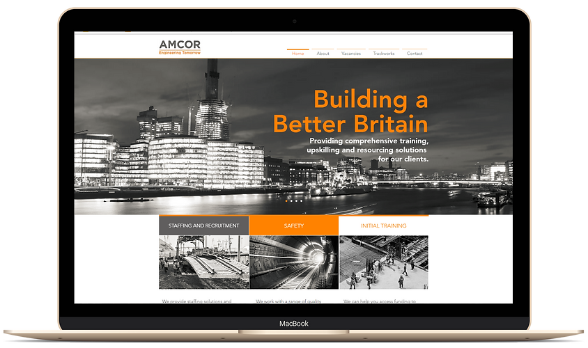 IDDE develops Amcor's website and helps grow their business online.