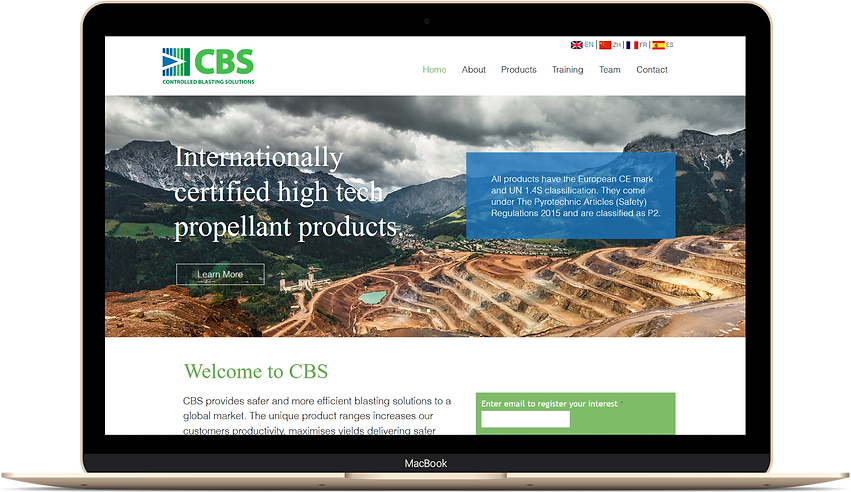 IDDE develops Controlled Blasting Solutions website and helps grow their business online.