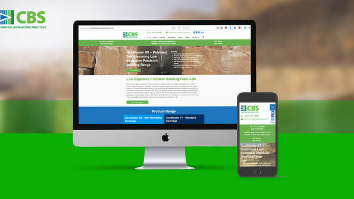 New Website – Controlled Blasting Services (CBS)