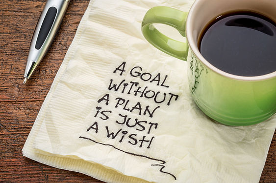 a goal without a plan is just a wish - m