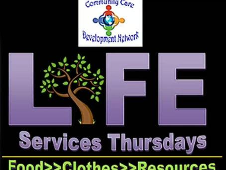 Tomorrow is Life Services Thursdays!
