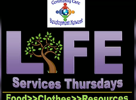 Tomorrow is Life Services Thursdays!