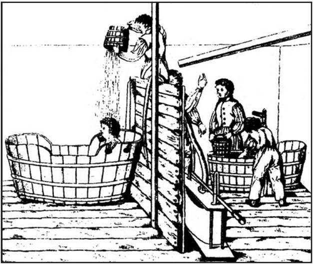 Le bain surprise