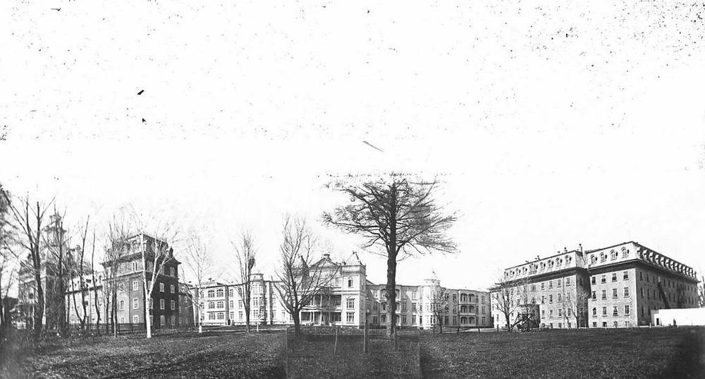 l'Asile provisoire de Beauport (Qc)