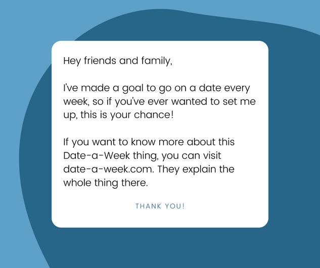 Blue Facebook Post (date-a-week.com)