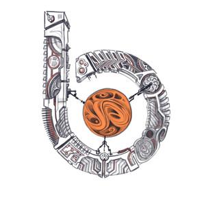 Skizze für Betsch-art Logo