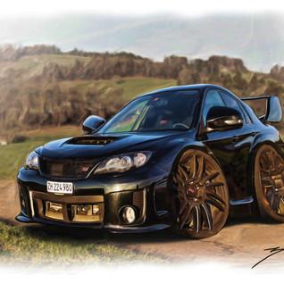 Subaru Car-Toon