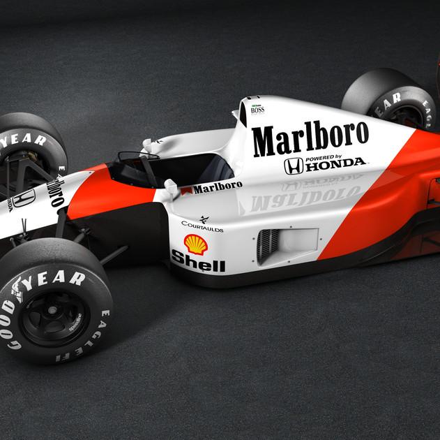 McLaren mp4-6 1991 A. Senna