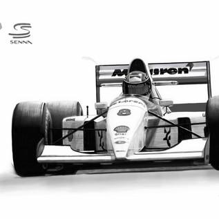 Mclaren 1993 A. Senna