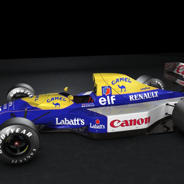 Williams FW14b 1992 N. Mansell