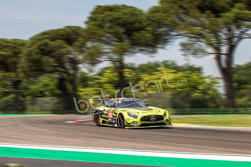 Swiss Team Mercedes AMG GT3 #4