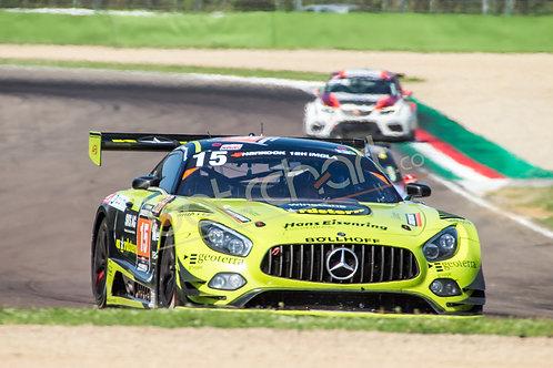 Swiss Team Mercedes AMG GT3 #2