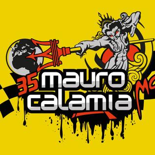 Fahrzeugaufkleber M. Calamia