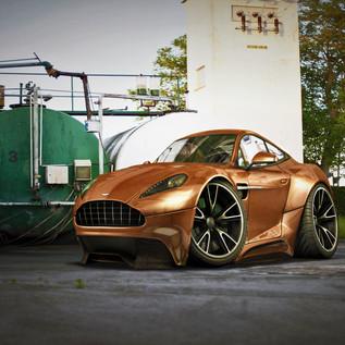 Aston Martin Car-Toon
