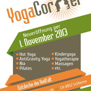 Yogacorner Poster