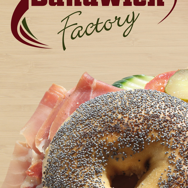 Sandwich Factory Broschüre 1