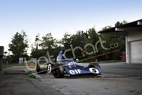 Tyrell 006 Jackie Stewart 1973