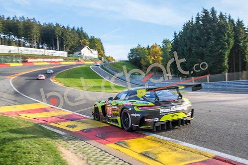 Eau Rouge Mercedes AMG GT3