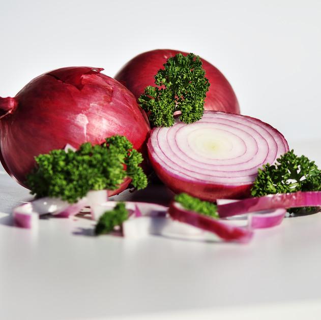 Rote Zwiebeln Produktfoto