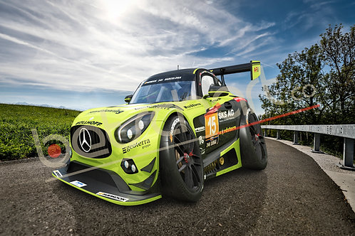 Mercedes AMG GT3 Car-Toon Front