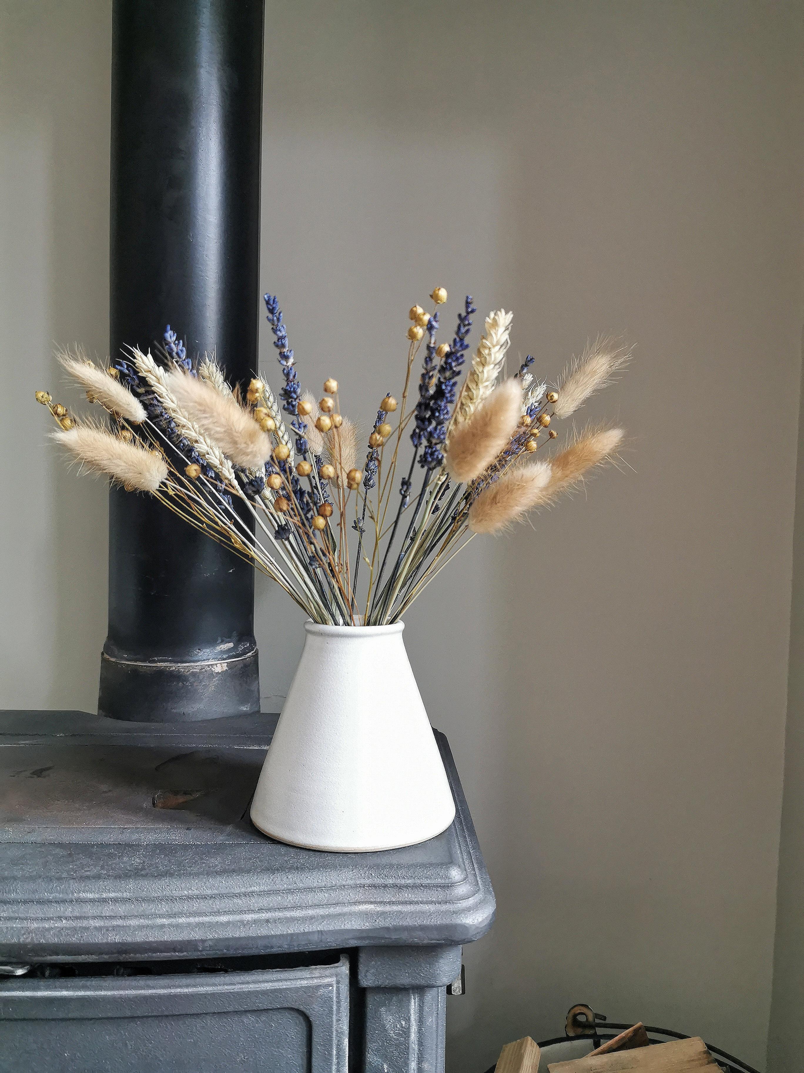 Letterbox Dried Flower Bouquet Allotment Florist