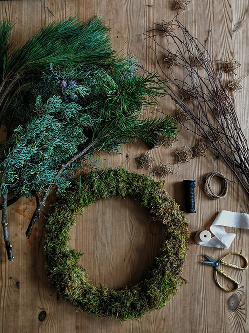 Live Zoom Wreath Workshops - Tue 8th Dec
