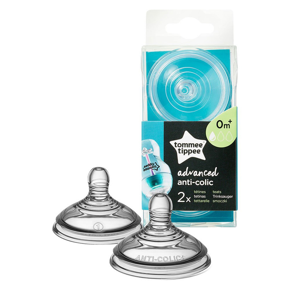 Advanced Anti Colic teat packaging