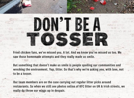 KFC  remind us of the power of great copywriting.