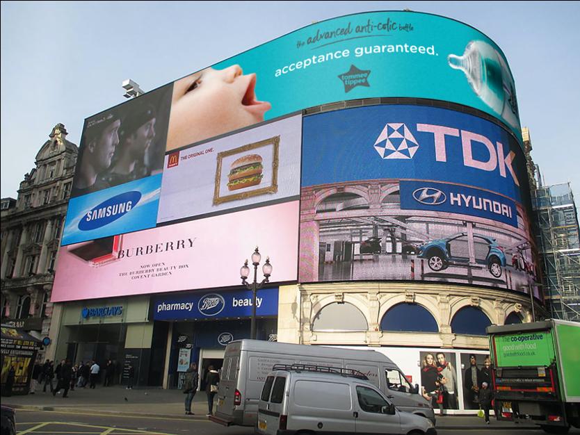 Outdoor Advertising Concept