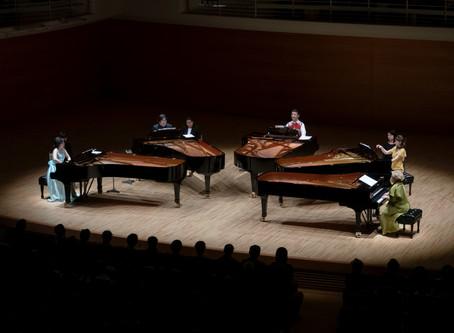 りゅーとぴあ 5台ピアノコンサート