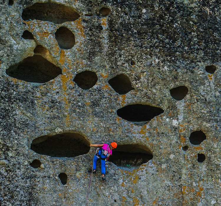 Nikos Hadjis - Mountain Guide - Rock Climbing - Greece Meteora